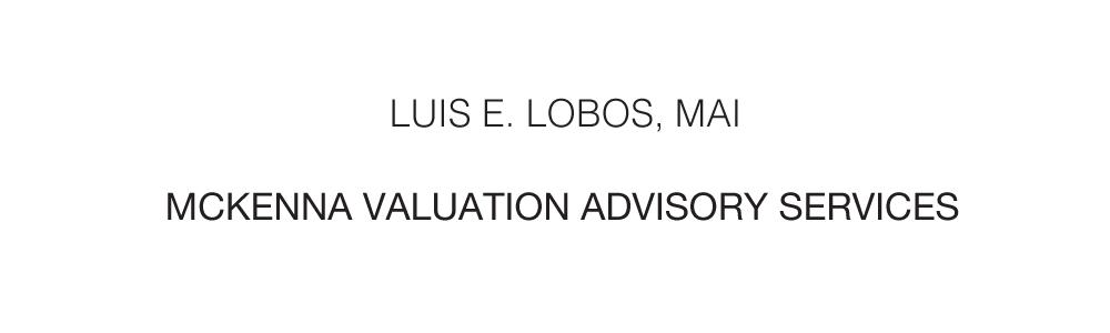 McKenna Valuation Advisory Services